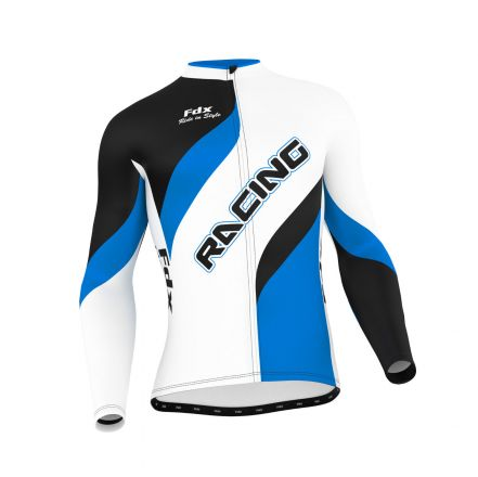 FDX Cycling Long Sleeve Jersey - męska koszulka kolarska