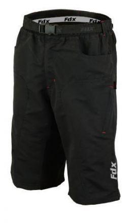 FDX MTB Shorts | CZARNY
