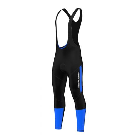 FDX Winter Thermal Gel Bib Tights - męskie ocieplane getry rowerowe