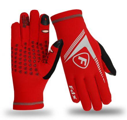 Rękawiczki biegowe idealne na chłodne dni. Obsługa ekranów dotykowych.