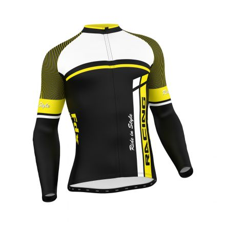 FDX Cycling Thermal Long Sleeve Jersey - męska koszulka kolarska