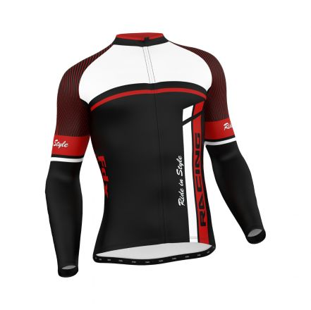 FDX Cycling Thermal Long Sleeve Jersey