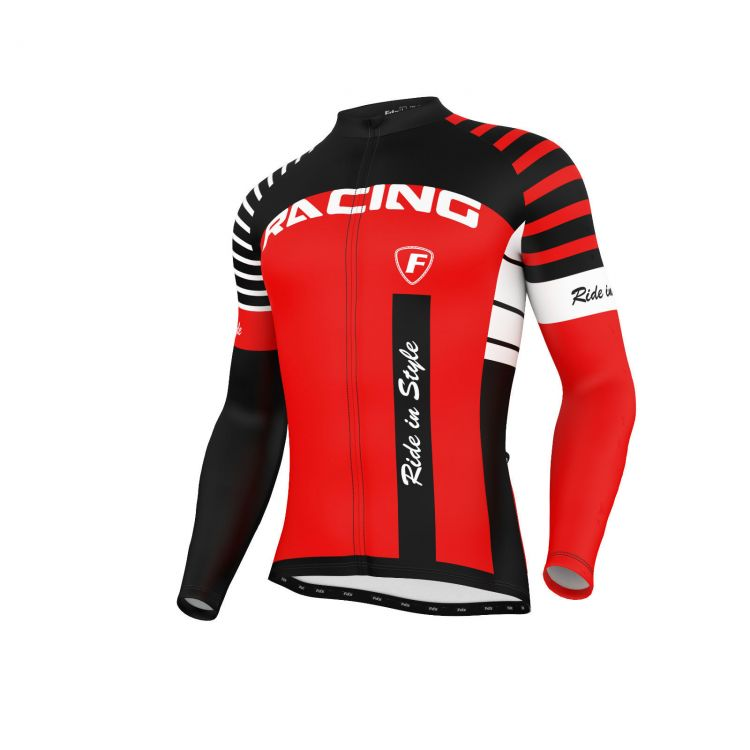 FDX Blaze Cycling Long Sleeve Jersey