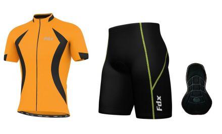 FDX Race Quality Padding Cycling Set - męski zestaw rowerowy