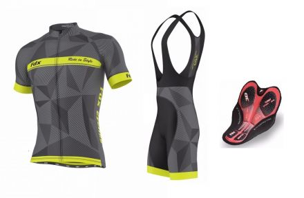 FDX Breathable Cycling Set