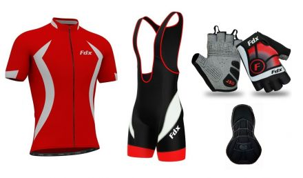 FDX Performance Cycling Set + Gloves