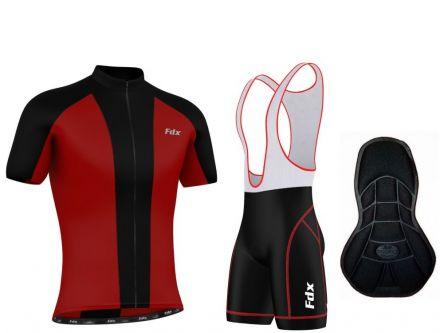 FDX Race Padding Set - męska odzież rowerowa