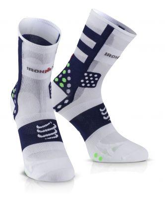 Compressport Pro Running Socks UltraLight HI V3.0 IRONMAN® - skarpety biegowe
