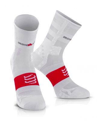 Compressport Pro Running Socks UltraLight HI V3.0 IRONMAN® - skarpety biegowe