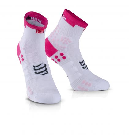 Compressport Pro Running Socks V3.0 Run HI IRONMAN® - skarpety biegowe