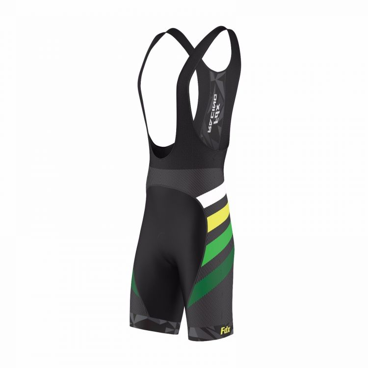 FDX Limited Edition Cycling Gel Bib Shorts