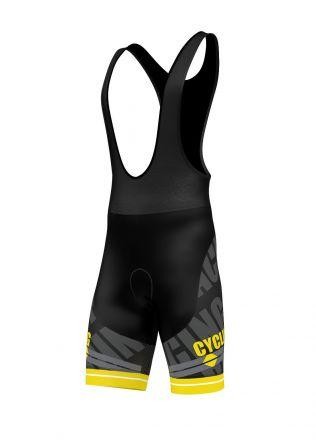 FDX Cycling Bib Shorts - męskie spodenki rowerowe