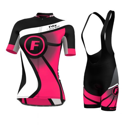 FDX Ride Style Ladies Set | CZARNO-RÓŻOWY