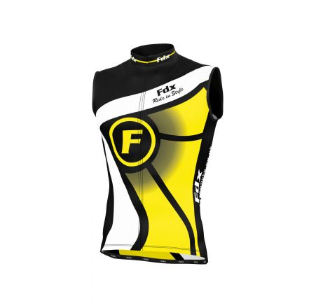 FDX Cycling Sleevless Shirt | ŻÓŁTY/CZARNY