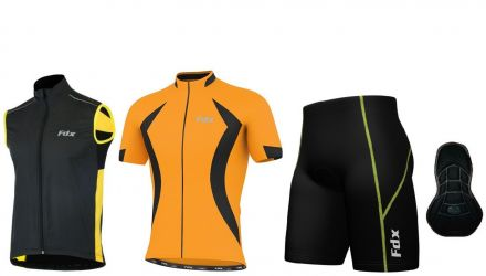 FDX Padding Race Cycling Gilet Set