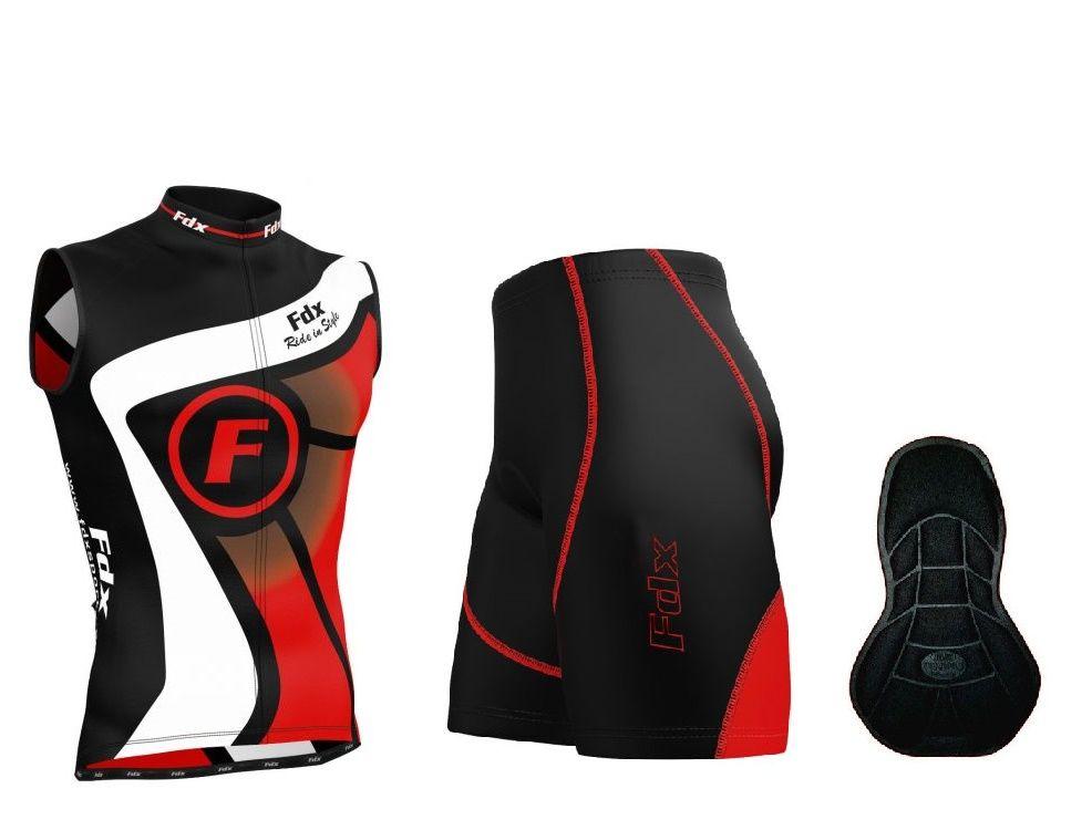 FDX Performance Cycling Sleevless Set - męski zestaw odzieży rowerowej