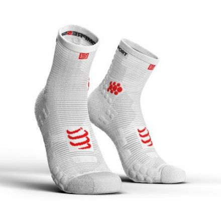 Compressport Pro Racing Socks V3.0 Run HIGH- kompresyjne skarpety biegowe
