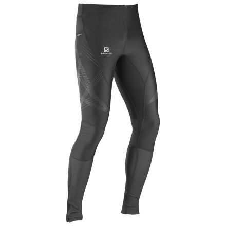 Salomon Intensity Long Tight M - Męskie getry do biegania 379407