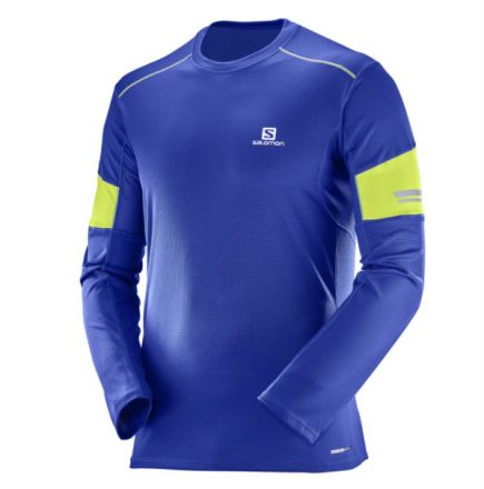 Męska bluza do biegania Salomon Agile LS Tee 397163