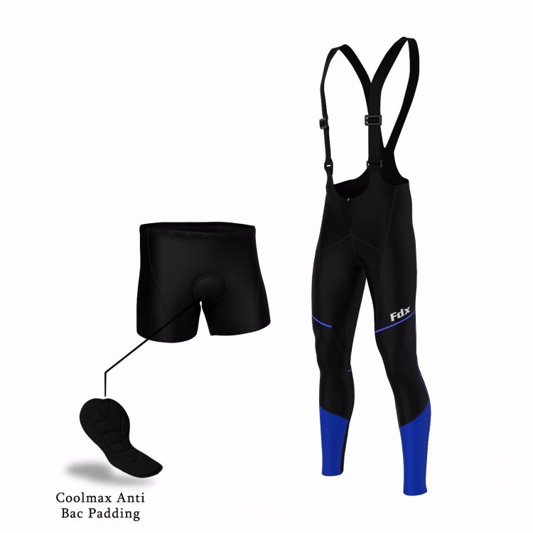 FDX Wind Stopper Thermal Gel Bib Tights