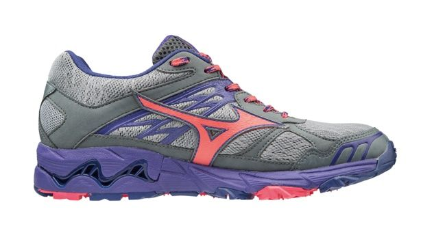 Mizuno Wave Mujin 4 G-TX - damskie buty do biegów terenowych z Gore-Tex J1GK175760