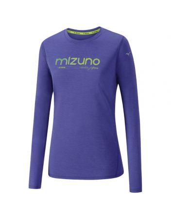 Mizuno Impulse Core Graphic LS Tee - damska lekka bluza do biegania J2GA7708_69