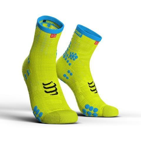 Compressport Pro Racing Socks V3.0 Run HIGH- kompresyjne skarpety biegowe