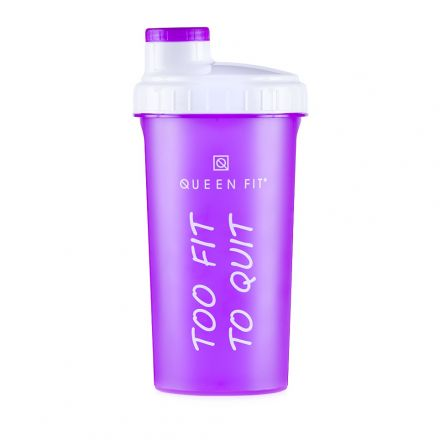 Olimp Shaker Quenn Fit Too Fit To Quit 700ml 700 - shaker sportowy