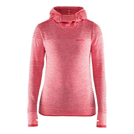 Craft Core Seamless Hood W - damska bluza biegowa