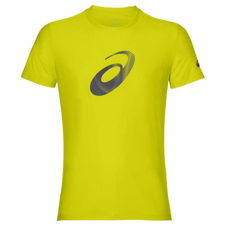 Asics Graphic SS  Top - Męska koszulka do biegania 134085_4120