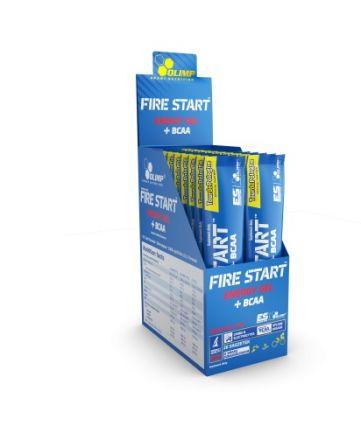 Olimp Fire Start Energy Gel + BCAA 10x36g - zestaw  żeli energetycznych