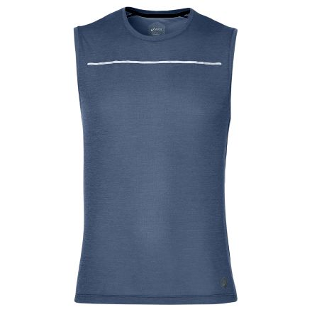 Asics Lite-Show Sleeveless - Męska przewiewna koszulka bez rękawów