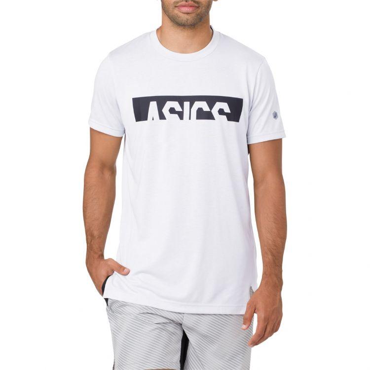 Asics Graphic SS Top - Męska termoaktywna koszulka do biegania