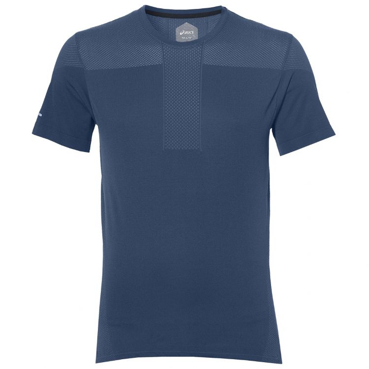 Asics Gel-Cool Seamless SS - Męska termoaktywna koszulka do biegania 154571_0793