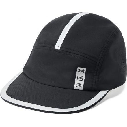 Under Armour TB RUN CREW 2.0 CAP - Męska czapka do biegania z daszkiem 1305012_001