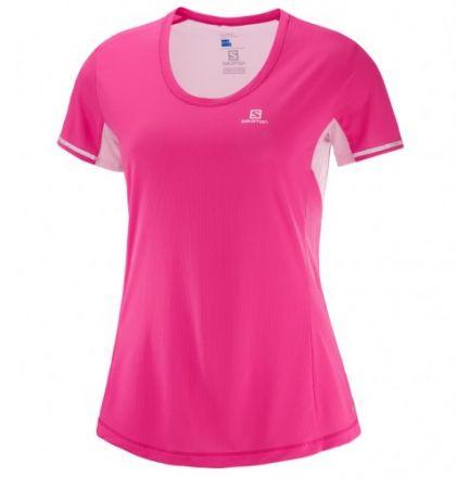 Salomon Agile SS Tee - damska koszulka do biegania  401242