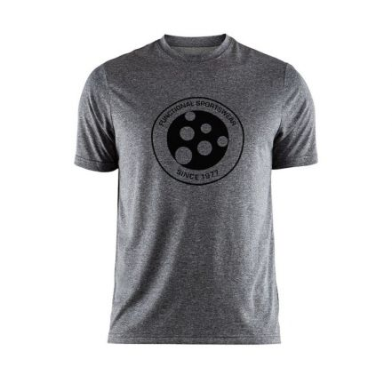 Craft SS Melange Graphic Tee - męska koszulka biegowa  1905989_998000