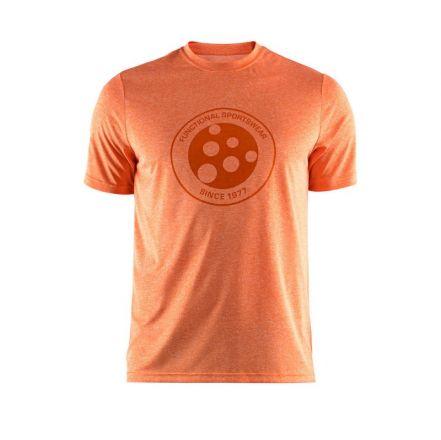 Craft SS Melange Graphic Tee - męska koszulka biegowa  1905989_575200