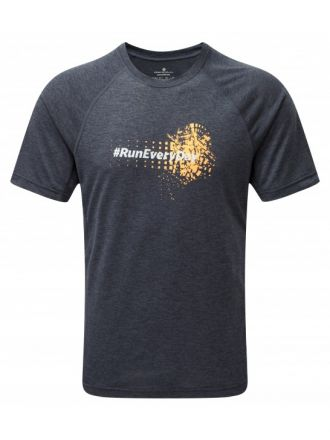 Ronhill Stride Graphic Tee - męska koszulka do biegania