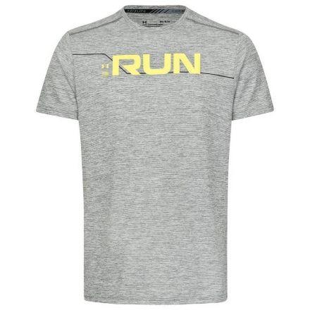 Under Armour Run Front Graphic SS - męska koszulka do biegania 1316844-001