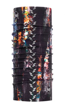 Buff Reflective R-Graffiti Black