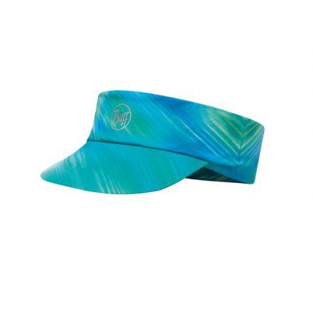 Buff Pack Run Visor R-Shining Turquoise - daszek sportowy