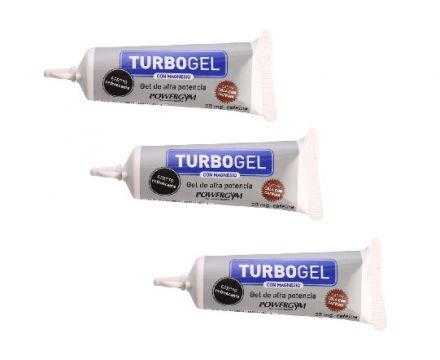 PowerGym TurboGel + Coffeine 3 X 23g