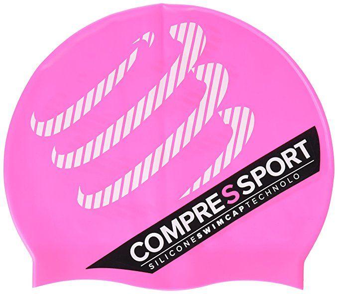 Compressport Silicone Swim Cap - silikonowy czepek do pływania