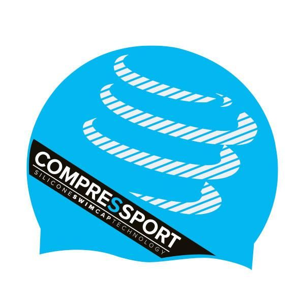 Compressport Silicone Swim Cap - silikonowy czepek do pływania