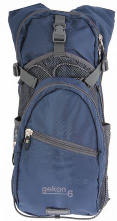 Lekki plecak rowerowy Axon Gekon z kieszenią na kask oraz wewnętrzną kieszenią na bukłak.   S807016