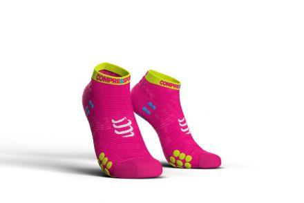 Compressport Racing Socks V3.0 Run LOW - stopki biegowe