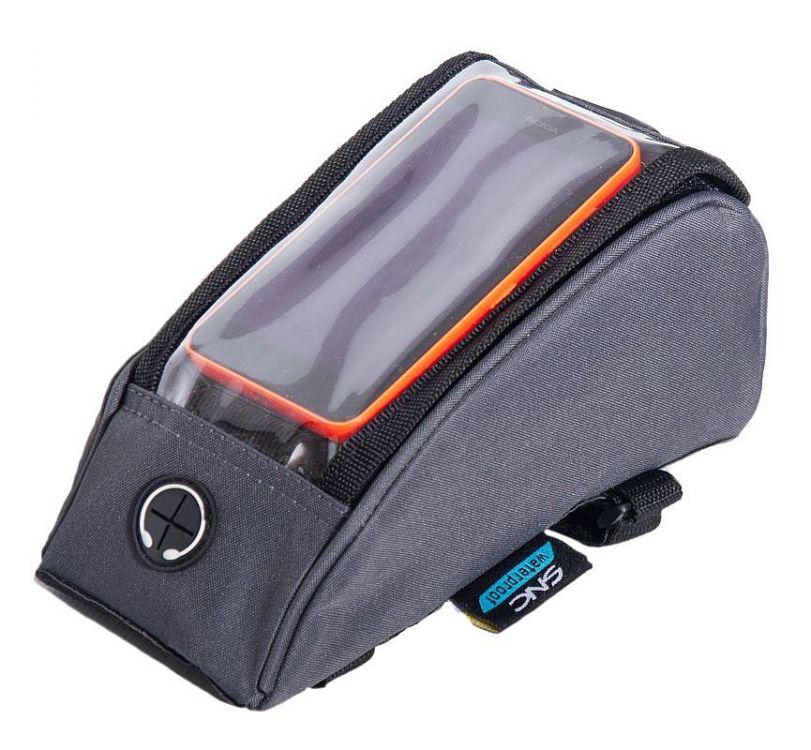 Sport Arsenal SNC 521 - sakwa rowerowa na ramę z kieszenią na telefon