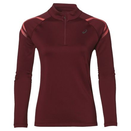 Damska bluza do biegania Asics Icon Winter LS 1/2 Zip Top