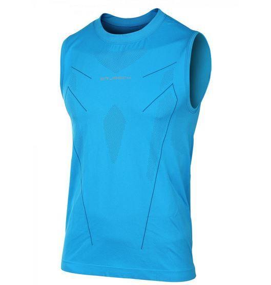 Brubeck Athletic - koszulka męska bezrękawnik SL10190